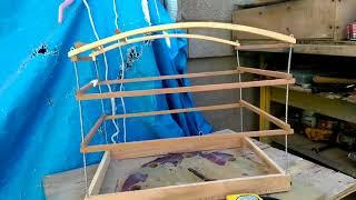 Como hacer una jaula de madera paso a paso