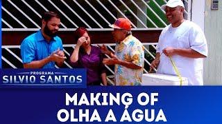 Making of Olha a Agua Cameras Escondidas