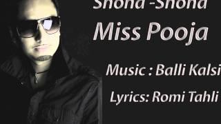 Miss Pooja - Shona Shona ft. Balli Kalsi (Official Song 2013)
