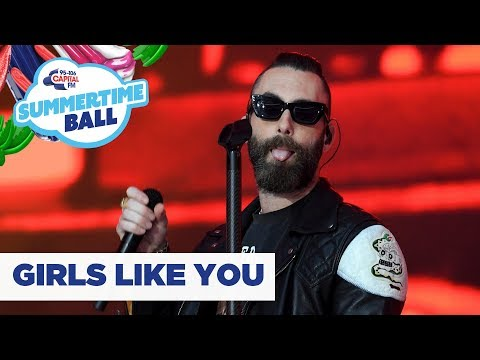 Maroon 5 – 'Girls Like You'   at Capital's Summertime Ball 2019