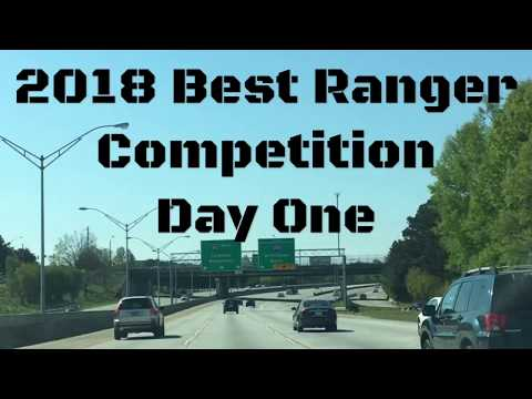 2018 Best Ranger Competition Day One