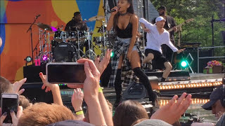 Ariana Grande On GMA Performs Everyday Did Not Air On TV