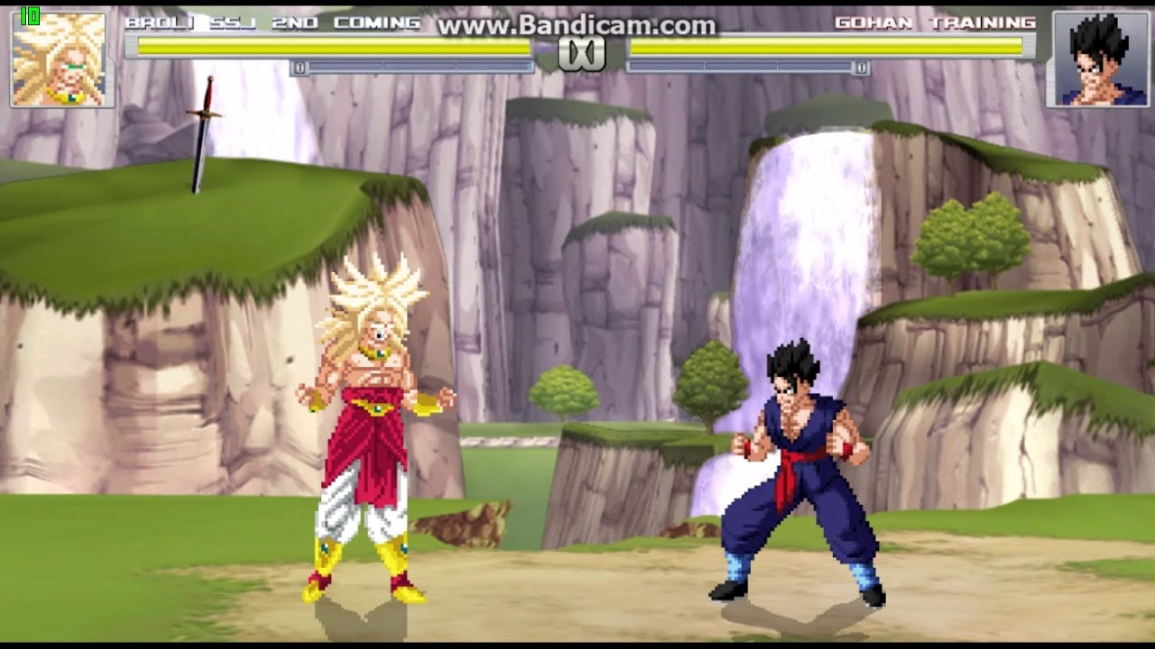 Broly 2nd Coming Ssj Downloads The Mugen Archive