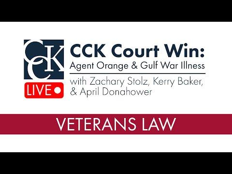 CCK Court Wins: Agent Orange & Gulf War Illness