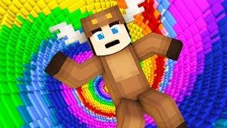 INFINITE MINECRAFT PIT TROLL! (Minecraft BED WARS)