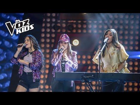 Helen, Isabella y Tatiana cantan Mujeres | La Voz Kids Colombia 2018