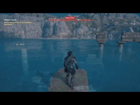 Assassin S Creed Odyssey Swimming With The Fishes Youtube