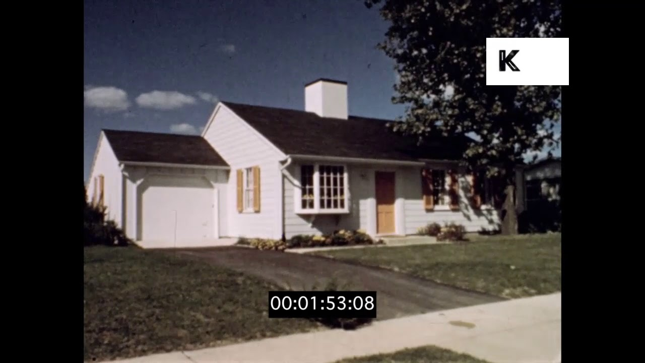 1950s Suburban Housing American Dream