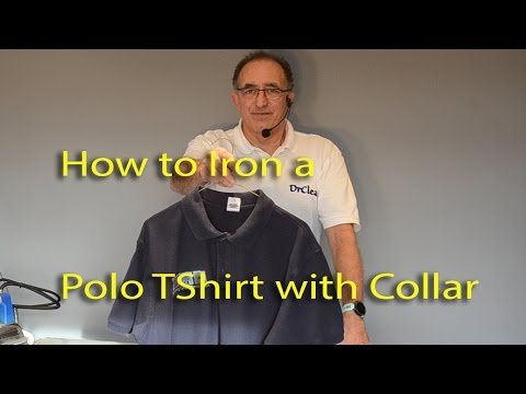 Wash your polo shirt inside out, in cold water with like-colored items. For example, don't wash a white shirt with dark clothing or you'll risk color run and dinginess. Don't use more than the manufacturer's recommended amount of detergent or fabric softener.