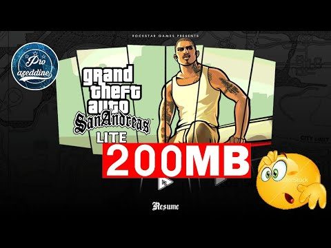Download GTA San Andreas Lite 200mb Android Mediafire /Password : BYMG
