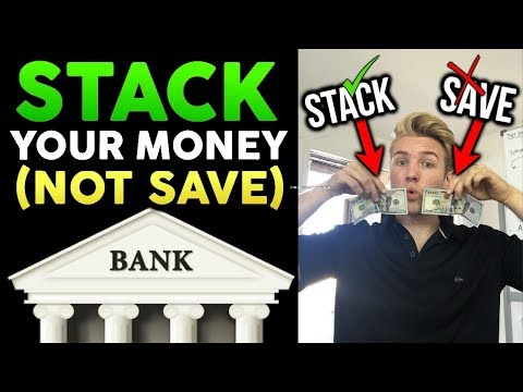 You Should Be Stacking Cash, NOT Saving