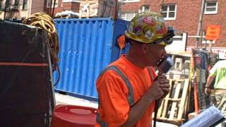 Gary Russo - 2nd Ave   New York City Construction Worker - Sinatra singer - ORIGINAL VIDEO