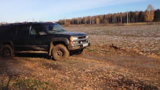 Chevrolet Suburban GMT400 offroad test GMC truck 4x4