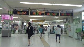 降車時の動画になります。 人口約45万5000人ほどの千葉県下第4位の市川...
