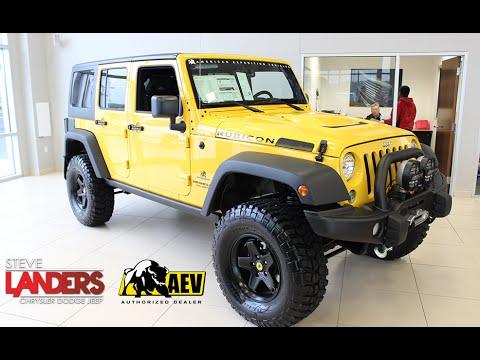 aev conversions jeep wrangler steve landers jeep in little rock arkansas youtube. Black Bedroom Furniture Sets. Home Design Ideas