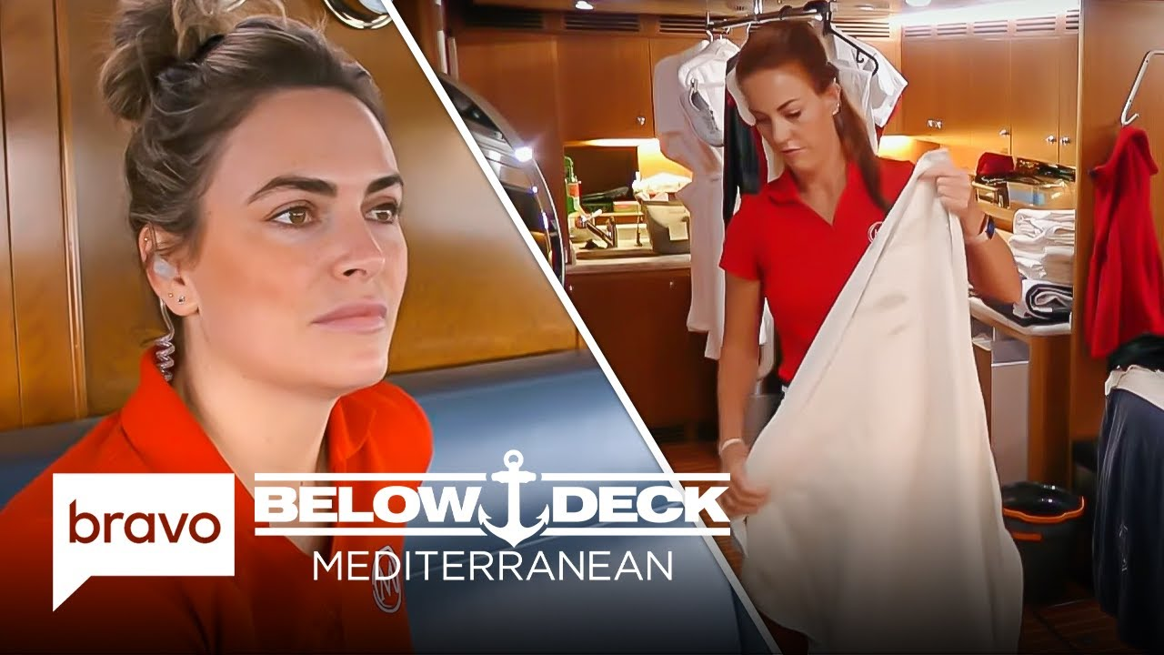 Download Katie Worries the New Stew Is Unhappy | Below Deck Mediterranean Highlights (S6 E10)