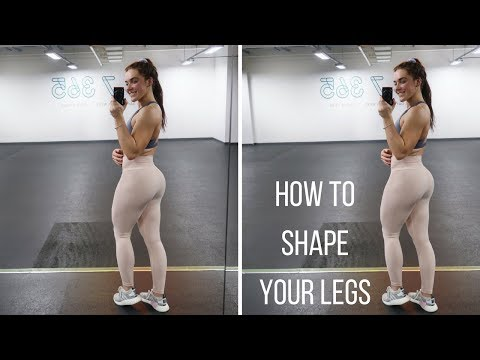 Hamstring And Glute Workout  How To Shape Your Legs