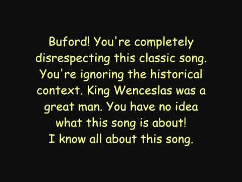 Phineas And Ferb - Good King Wenceslas Lyrics (HQ)
