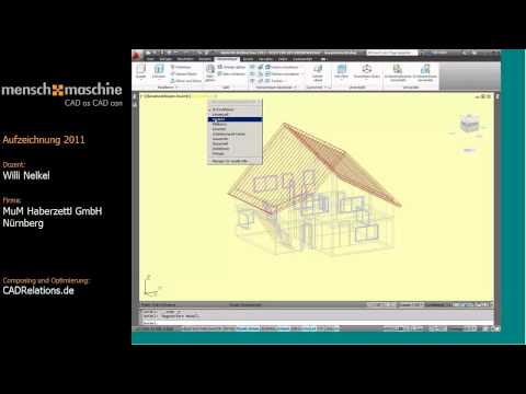 AutoCAD Architecture 2012:  3D ist leichter als Sie denken! (Deutsch / Dauer ca. 45 Minuten)