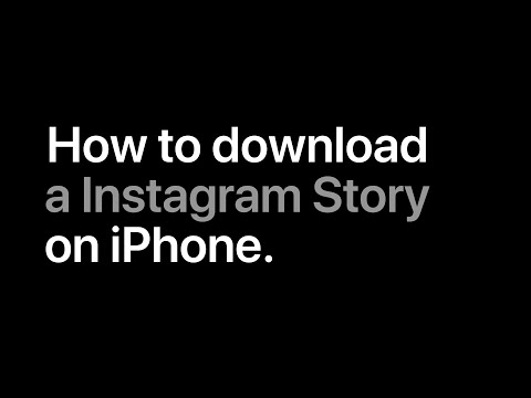 How To Download A Instagram Story On IPhone.