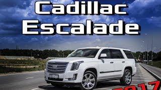 Тест Драйв Cadillac Escalade 2017 Platinum 6.2 Обзор Кадиллак Эскалейд, плюсы и минусы, сравнение смотреть