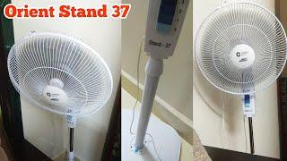 Orient Stand 37 Fan Unboxing & Fitting | High Speed Pedestal Fan 2000 RPM by Orient