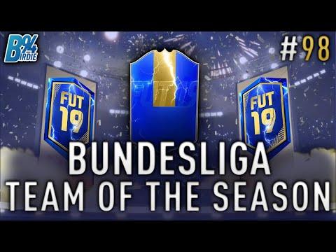 *LIVE* BUNDESLIGA TOTS!!! Team of the Season Pack Opening - Weekend League - FIFA 19 RTG #98