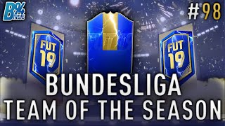 *LIVE* BUNDESLIGA TOTS!!! Team of the Season Pack Opening - Weekend League - FIFA 19 RTG #98