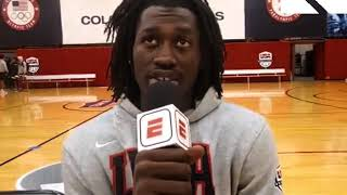 Isaac Likekele: 2019 USA Basketball U19 Training Camp Interview