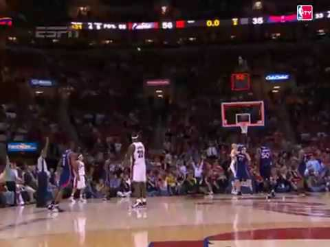 Lebron James Beats the Buzzer