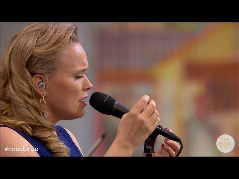"""Ane Brun performs """"Horizons"""" live at the Nobel Peace Prize Ceremony 2018 Mp3"""