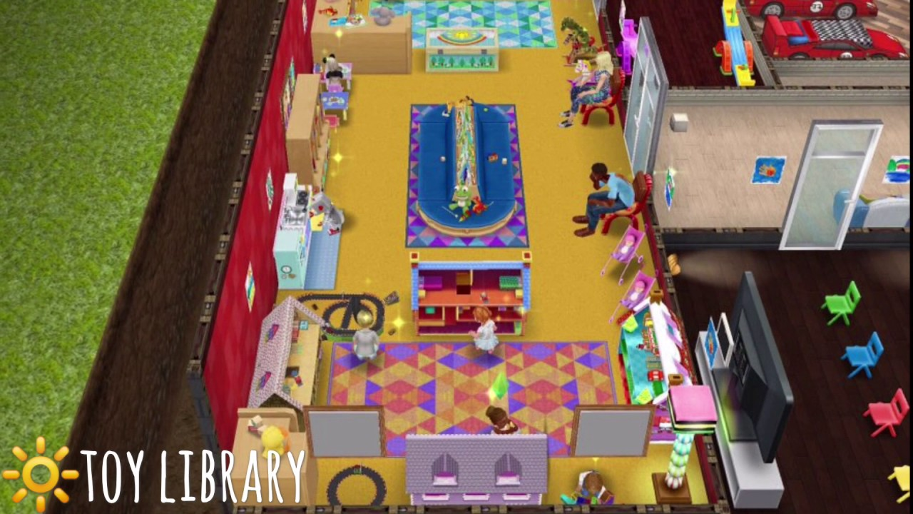 Sims FreePlay    Decoration ideas    Day Care Center ...