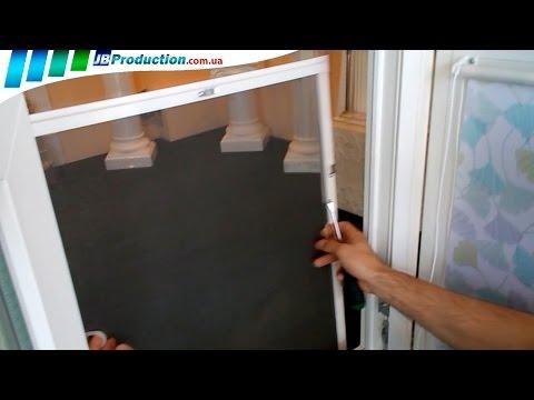 видео: Установка Москитных сеток на окна от jb production