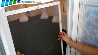 Установка Москитных сеток на окна от JB Production
