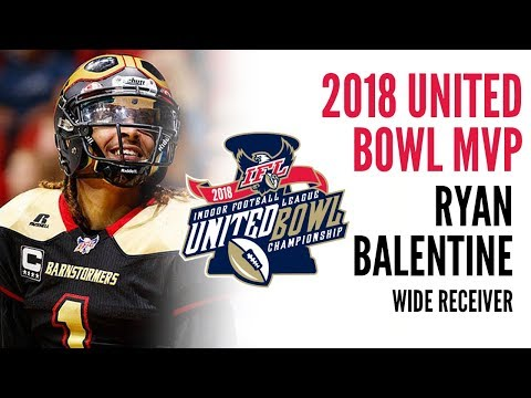 2018 United Bowl MVP : WR Ryan Balentine