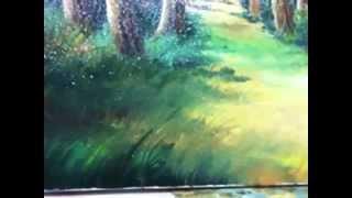 Oil painting lesson-landscape part 2 - Mihai Ionescu
