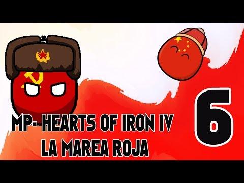 Inicia la SGM ...Invasion a Iran - HEARTS OF IRON IV - EN ESPAÑOL - LA MAREA ROJA # 6