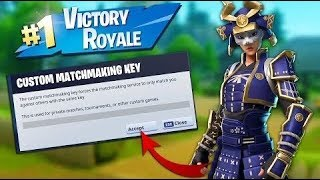 Fortnite Custom Matchmaking LIVE Solo/Duo/Squad | NA EAST, NA WEST, EUROPE - CODE VENNY IN SHOP ツ