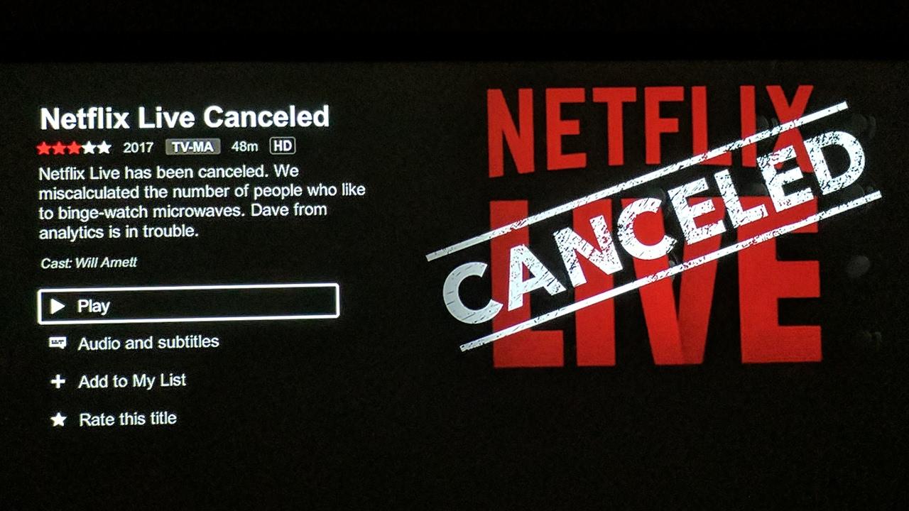 Netflix LIVE! April Fool's