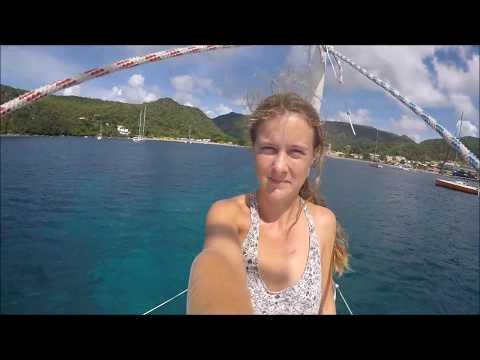 Sailing Hakuna Matata Ep. 10 - climbing a vulcano and snorkeling in Martinique