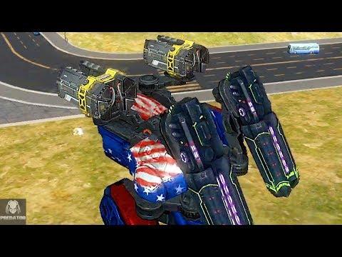 MAX Level Butch Glory/Exodus Tactical Gameplay | Combo-Build | War Robots