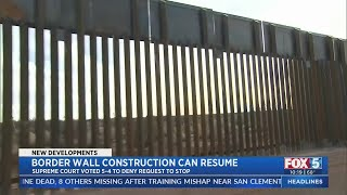 Supreme Court Allows Continued Construction Of Border Wall