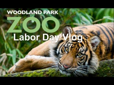 Labor Day Vlog | Woodland Park Zoo