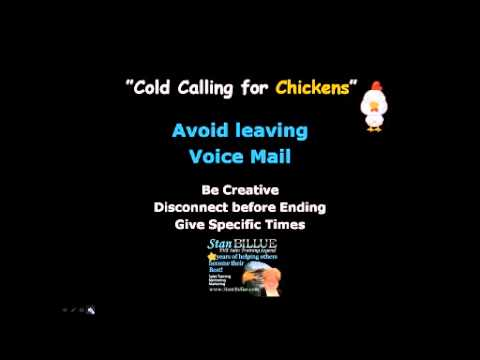 How To Cold Call Effectively - Cold Calling For Chickens