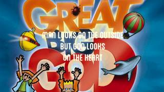Man Looks On The Outside - Great Big God  Lyric Video (Vineyard UK Kids Worship)