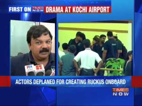 Did actors misbehave onboard?