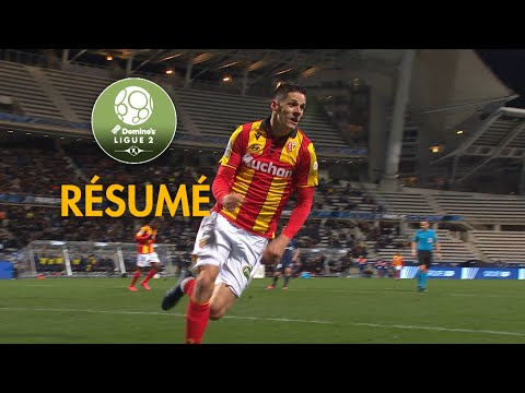 Paris FC Lens Goals And Highlights
