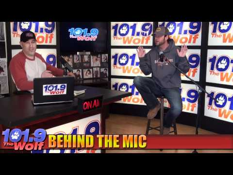David Nail Behind the Mic Interview extended 101.9 the Wolf.f4v