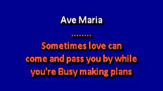 Beyonce Ave Maria karaoke