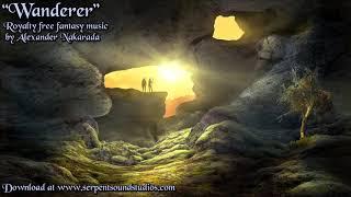 Royalty Free Celtic Fantasy Music Wanderer, by Alexander Nakarada